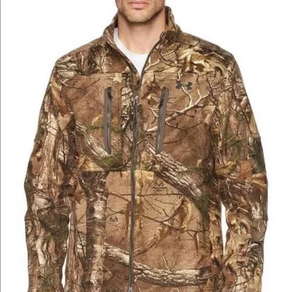 Brand New Under Armour camo jacket